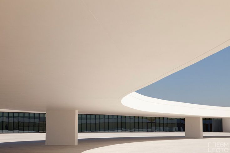 The Oscar Niemeyer International Cultural Centre - Design by Oscar Niemeyer - Avilés, Asturias, Spain - 2011