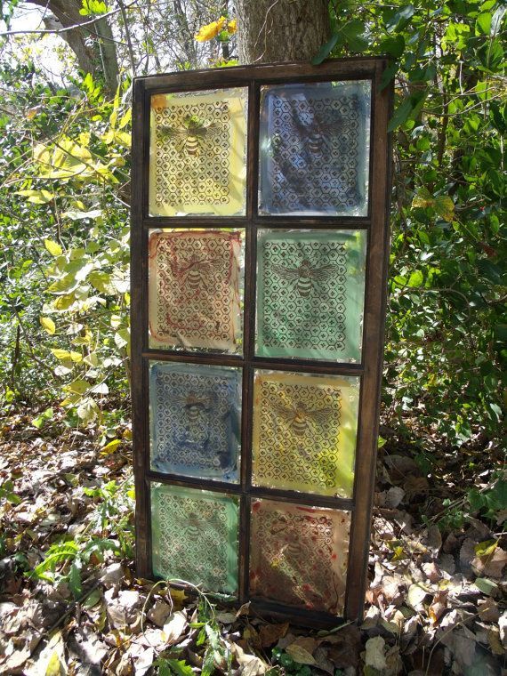 Diy creative uses for salvaged windows this post shows for Unique window designs