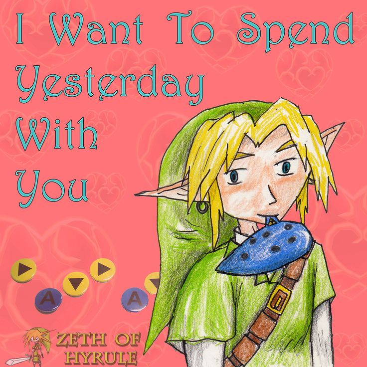 How Is Link Holding That Ocarina? Link U Ok There Friend? Kingdom Hearts Legend Of ZeldaValentines ...