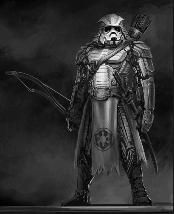 Trooper: Star Wars Characters Depicted in Feudal Japan ~ Clinton Felker: Darth Vader, Feudal Japan, Storms Troopers, Stars War Art, Character Illustrations, Samurai, Fans Art, Stars War Character, Starwars