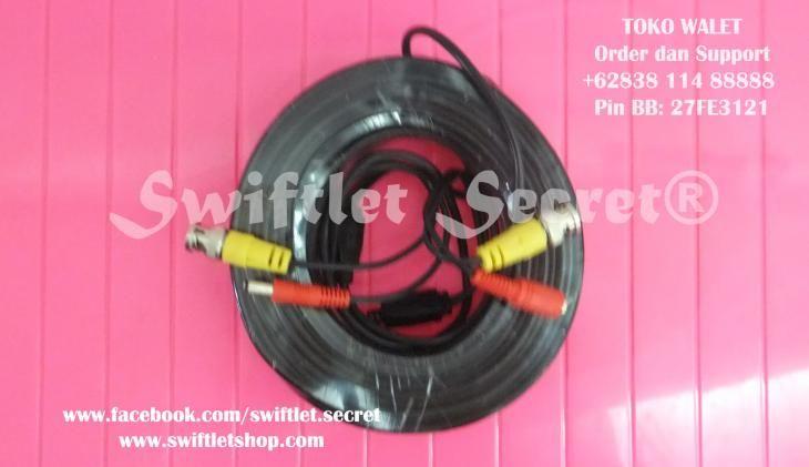Kabel CCTV Video Power Gulungan 30 Meter