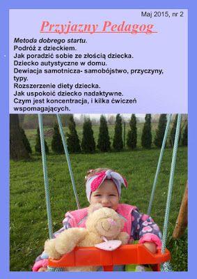 przyjazny pedagog : Nowy Numer miesięcznika Przyjazny Pedagog :) Zapra...