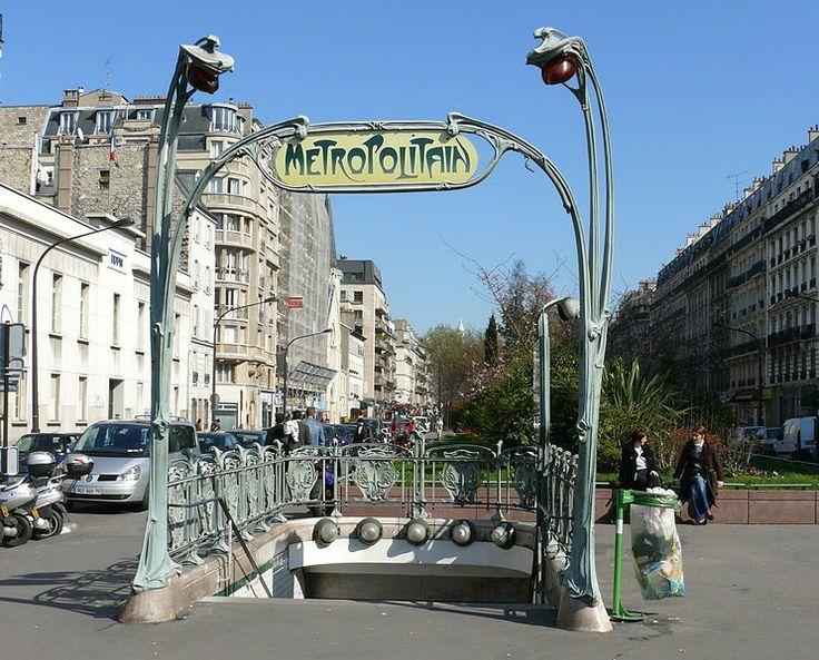 23 best ARCHITECTURE METRO LES STATIONS images on Pinterest | Paris ...