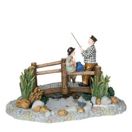 Luville Fishing on the bridge 602317