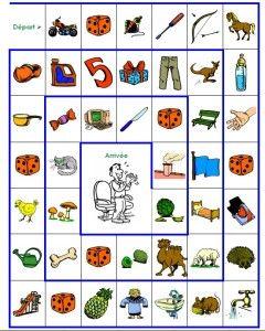 Jeu de l'oie conscience phonologique (1) - L' école pour les parents