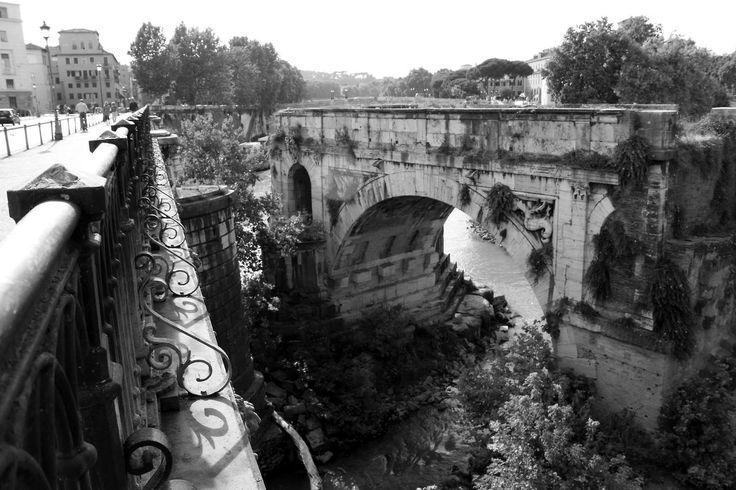 Il Ponte Emilio (Pons Aemilius) o Ponte Rotto - Roma