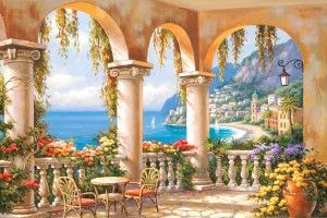 Terrace Arch 1 Mural - Sung Kim| Murals Your Way