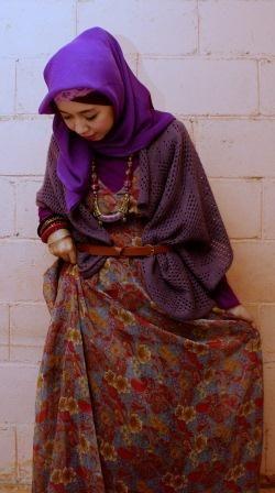 Purple and Red ~ FashFaith.com