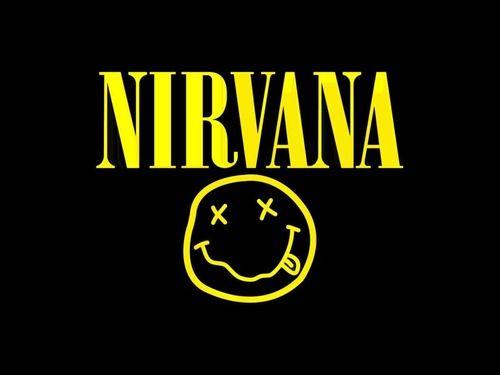 Bodoni on Nirvana logo #typography