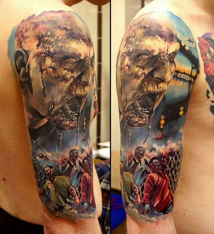Zombie Tattoo Ideas: 48 Best Tattoo Ideas Images On Pinterest