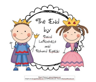 The End...backwards fairy tale...great for cause and effect...synonym activity, too....freebie!