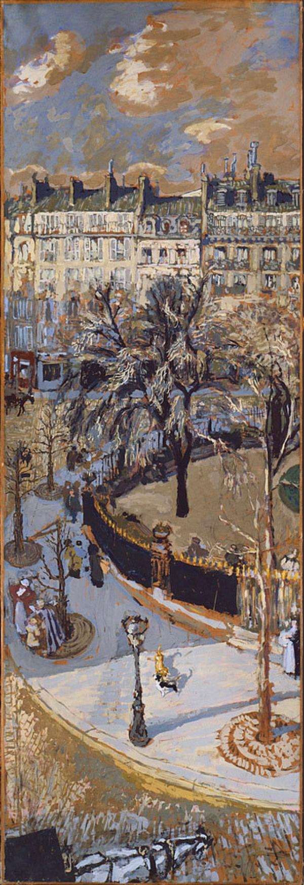 "Edouard Vuillard: ""Place Vintimille"",  Paris, 1908. Guggenheim Museum, NYC."