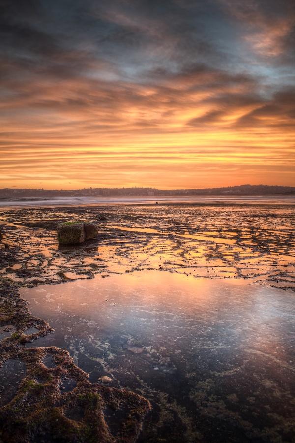 Sunset over Long Reef, NSW Australia.