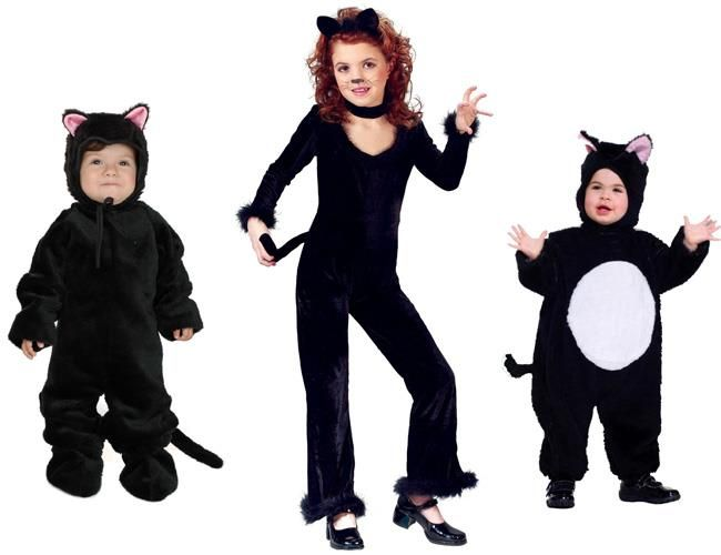 Новогодний детский костюм кот базилио