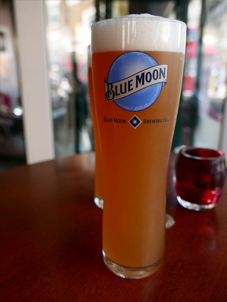 Blue Moon on tap, London