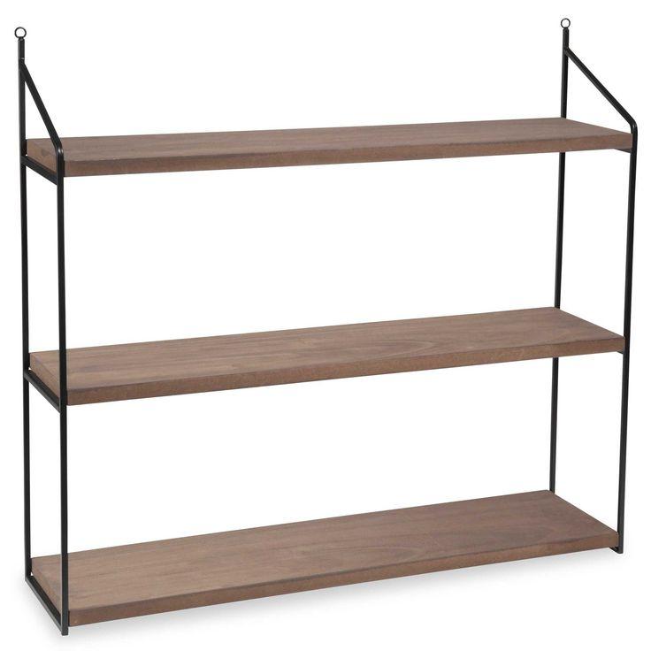 good maison du monde boho wall shelf x cm with etagere stockholm maison du monde. Black Bedroom Furniture Sets. Home Design Ideas