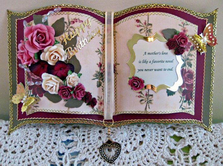 Mother's Day Bookatrix by sticklelover - Cards and Paper Crafts at Splitcoaststampers