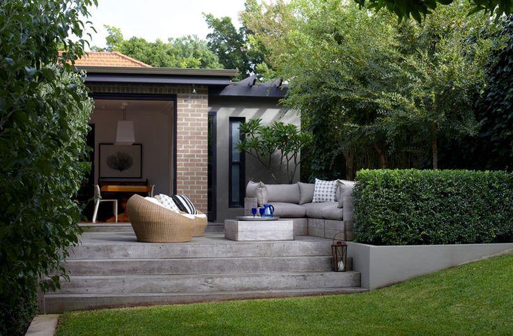 17 best images about modern garden designs on pinterest for Small garden design sydney