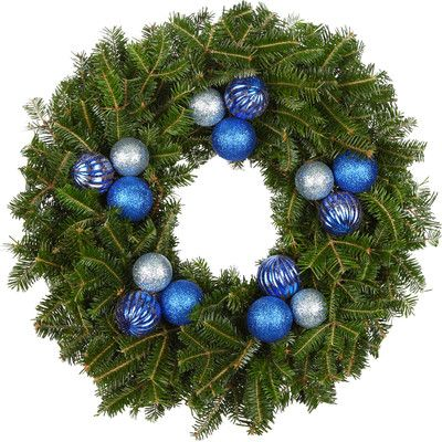 real christmas trees delivered 24 fir wreath - Real Christmas Trees Delivered