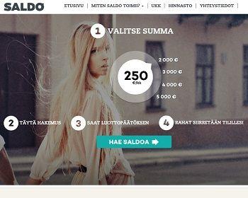 Saldo.com | VertaaLainaa.fi