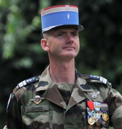 82e Le Colonel Danes Galerie des chefs de Corps du 2° Régiment de Hussards
