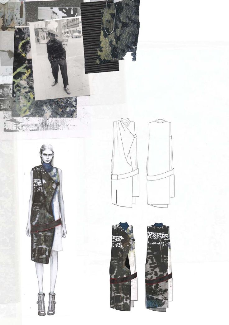 Fashion Design Sketchbook - fashion drawings, inspirations & fabrics…