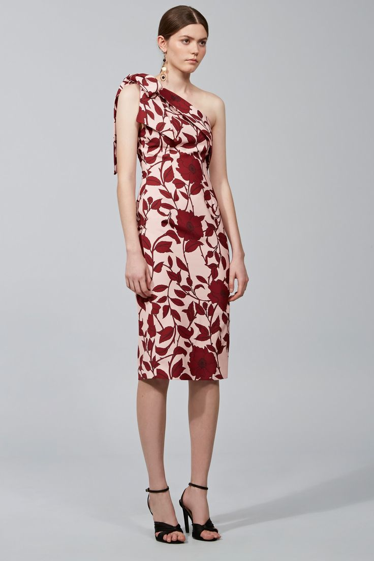 KEEPSAKE DREAM ON DRESS dark floral print