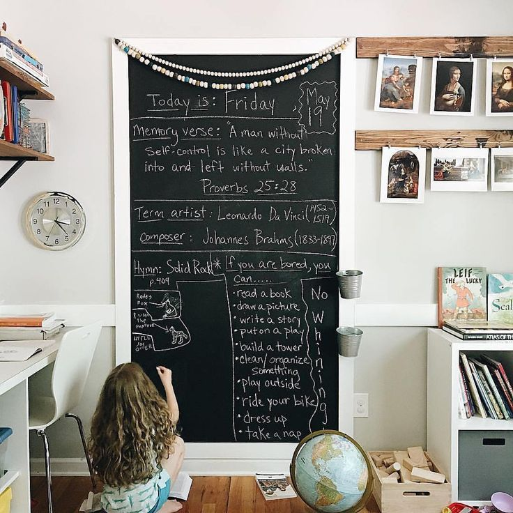 Minimalist Homeschool Room: Pin By Ahrens At Home On Kid Places And Spaces