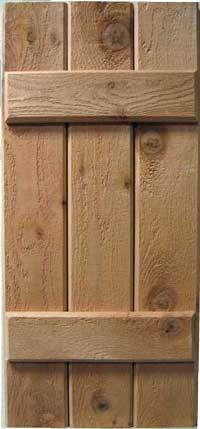 Placercraft Rough Sawn Board Batten Red Cedar Exterior