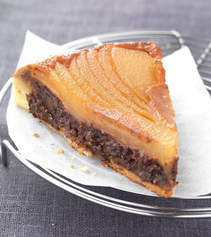 #Tartatin #chocolate #French #Traditional #Pie