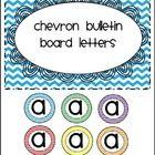 Chevron Bulletin Board Letters