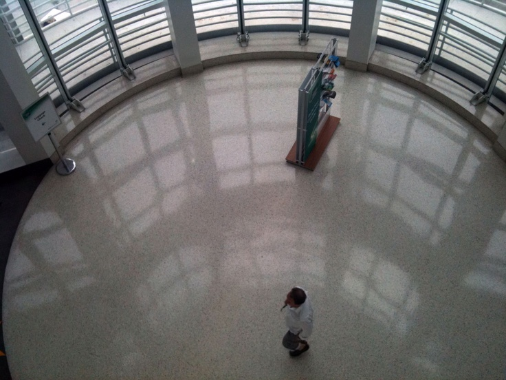 Downtown LA Convention Centre can be a lonely place #WPC11 #LA