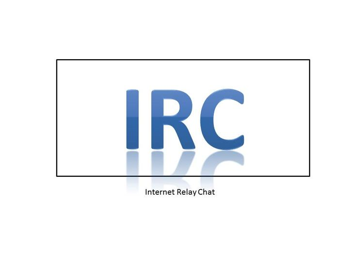 A brief history of Internet Relay Chat (IRC), an Internet protocol begun in the 1980s