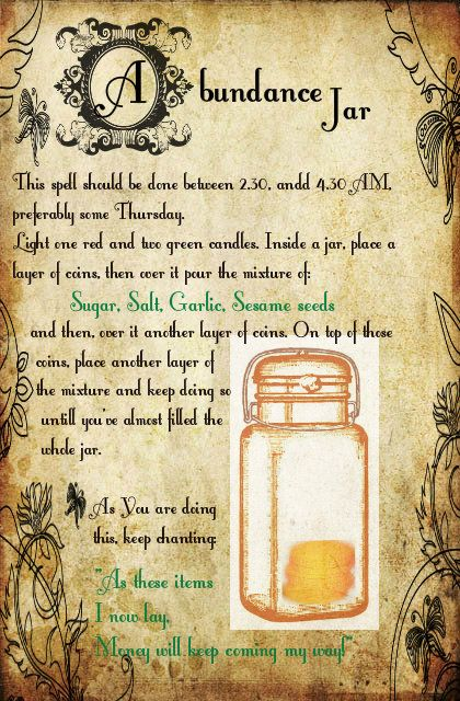 Russian folk spell to increase money flow, and keep it staying with You. Thank You for the mason jar vintage image Graphics fairy ---> www.thegraphicsfairy.com Design and text by little old me :) Abundance of Blessings ;)