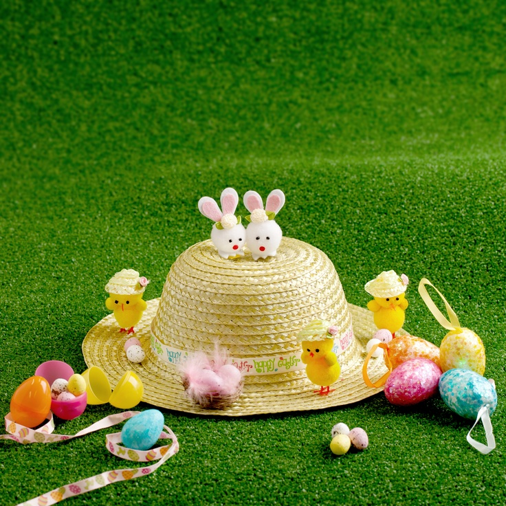 Everything you need to make your Easter Bonnet at Poundland