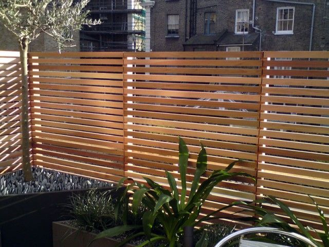 Best 25 Slatted Fence Panels Ideas On Pinterest Outdoor