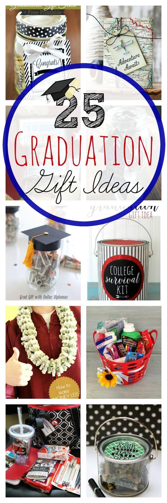 25 Graduation Gift Ideas   Crazy Little Projects