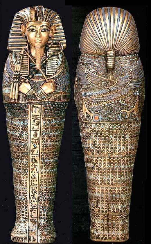 Sarcófagos de Tutankhamon