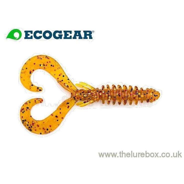 """Ecogear Ikajaco 3.5"""" Pumpkin + Copper + Black Flake"""