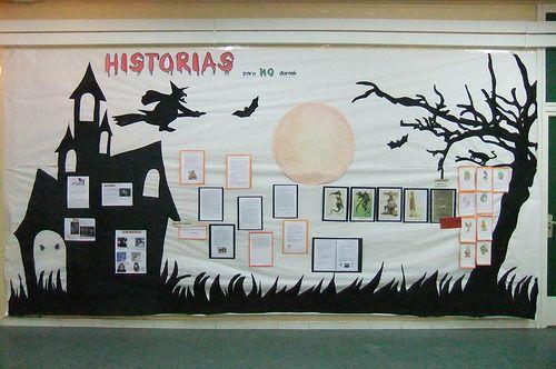 Halloween: mural