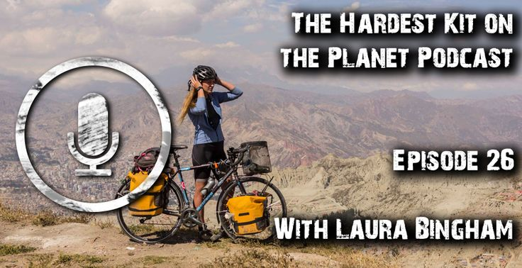 How to travel across a continent on a push bike without using any money . . . with Laura Bingham