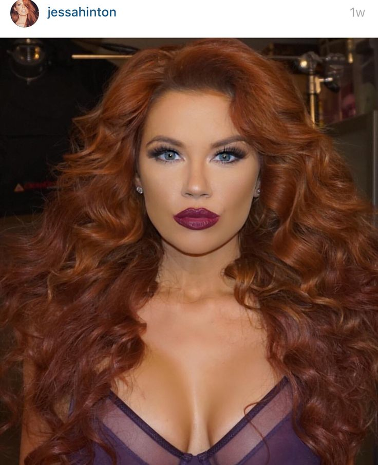 Jessa Hinton Red Hair Redhead Hair Color Ideas