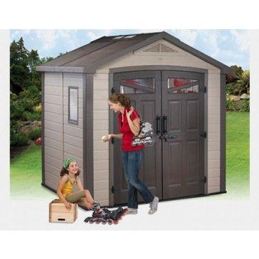 46 best images about plastic sheds on pinterest deck box. Black Bedroom Furniture Sets. Home Design Ideas