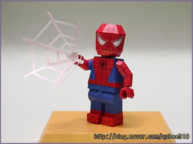 Yobee S Lego Mini Figure Paper Craft Free Download Lego
