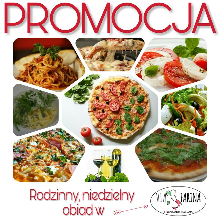 ★ RODZINNY OBIAD ★  OTO NASZA PROPOZYCJA NA NIEDZIELNY, RODZINNY OBIAD.  ☛ 2 MAKARONY lub 2 SAŁATKI + 2 PIZZE NEAPOL = 69 ZŁ! ☚ Sprawdź ile oszczędzasz ☛ http://www.viafarina.pl/ ☛ ZAPRASZAMY ★  #restauracjawłoska #restauracja #viafarina #Niepołomice #Kraków #Wieliczka #weekend #Pizza #Italia #menu #Obiad #Kolacja #kręgle #rodzina #pysznejedzenie #niedzelnyobiad #zaproszenie #tniemyceny #promocja #makaron #sałatka #neapol #oszczędności