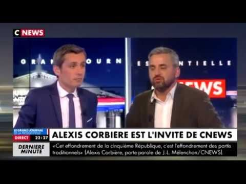 Le journal de BORIS VICTOR : Alexis Corbière invité de CNEWS le 03/04/2017