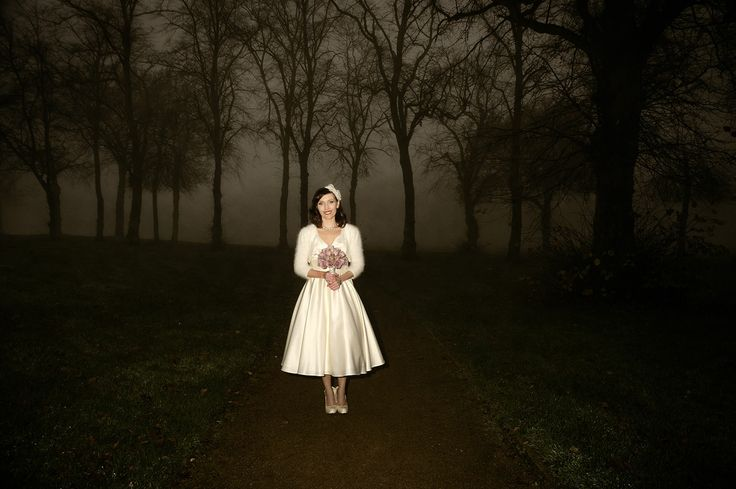 The beautiful Bride at House for an Art Lover, Glasgow. Vintage wedding photography by Gavin Macqueen.