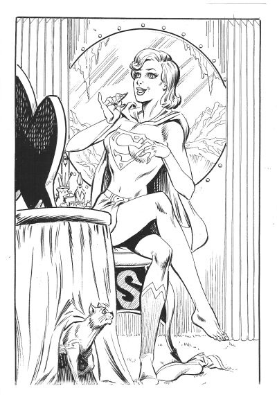 Supergirl by Jim MooneyJim Mooney, Stuff Worth, Worth Living, Classic Supergirl, Super Heroes, Random Art, Heroes Besties