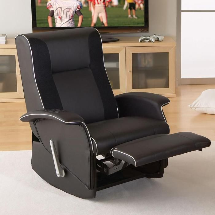 XRocker Slim Home Theater Recliner  furniture for media