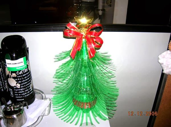 Resultado do Desafio – artesanato reciclado para o Natal   Revista Artesanato